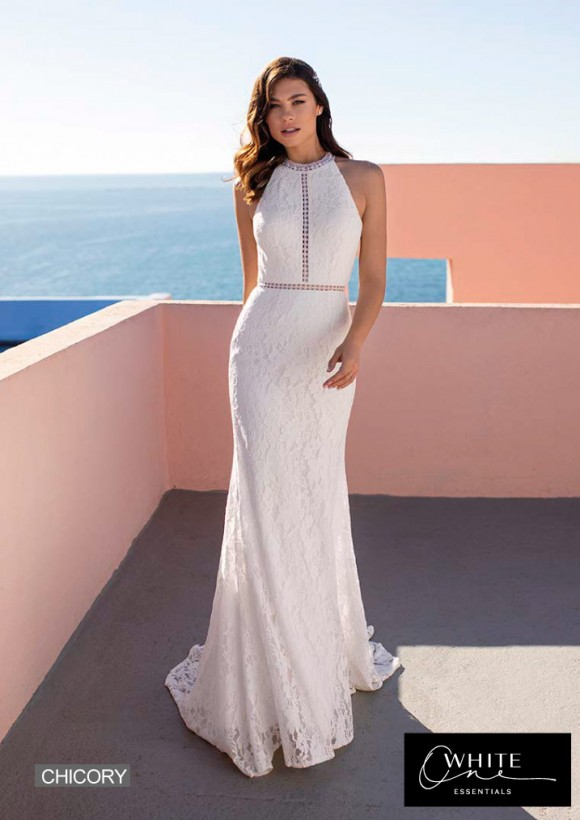 vestido novia White One Essentials modelo chicory