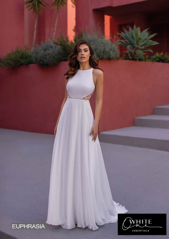 vestido novia White One Essentials modelo euphrasia