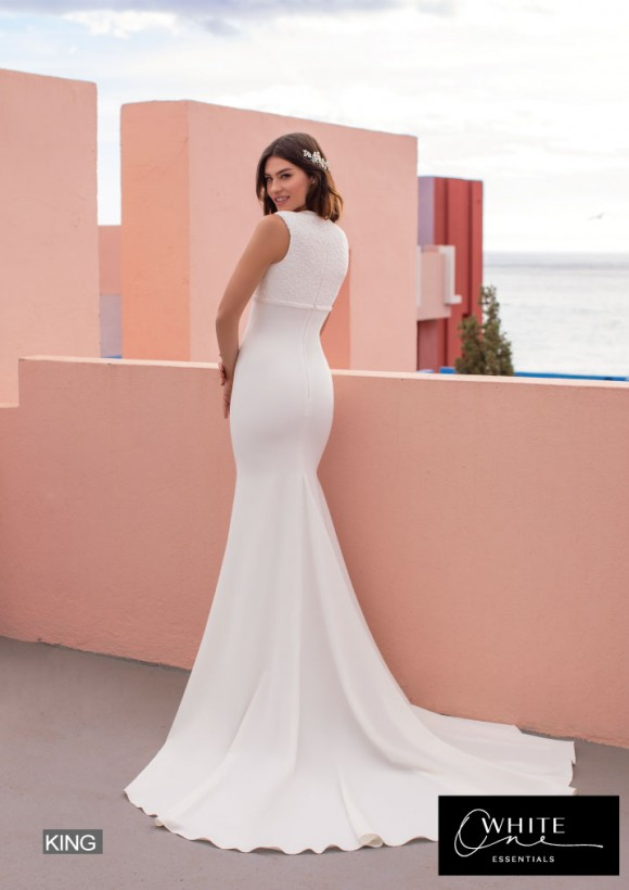 vestido novia White One Essentials modelo king