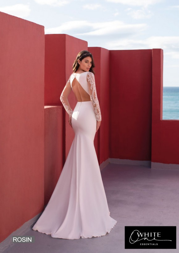 vestido novia White One Essentials modelo rosin
