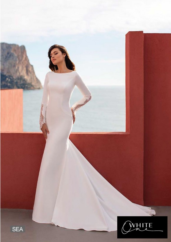 vestido novia White One modelo sea