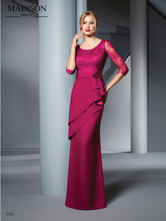 vestido madrina madison 2125