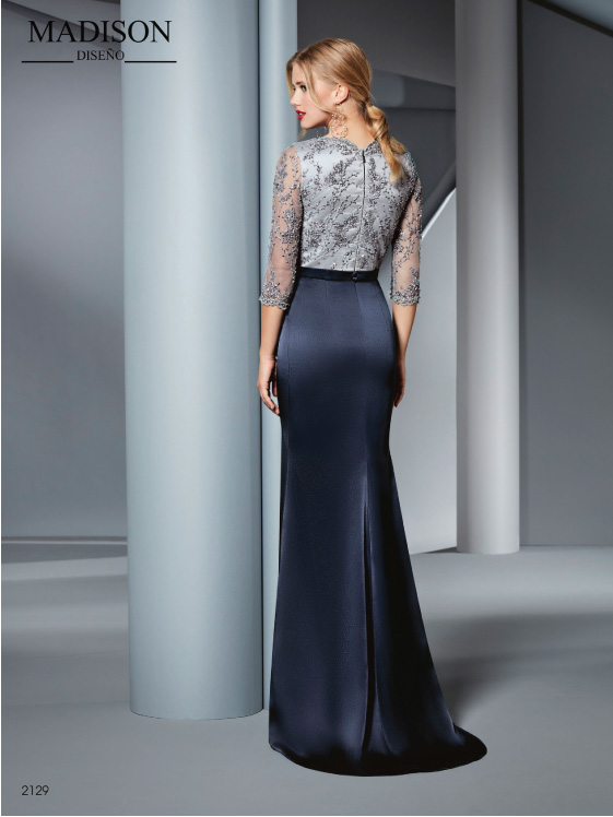 vestido madrina madison 2129