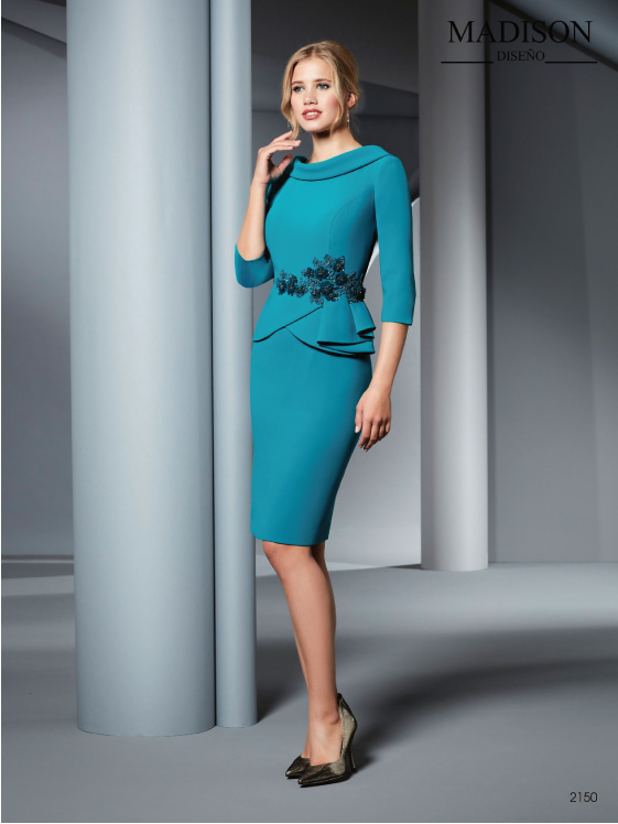 vestido madrina madison 2150